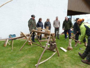 Green woodworking weekend May 15 002